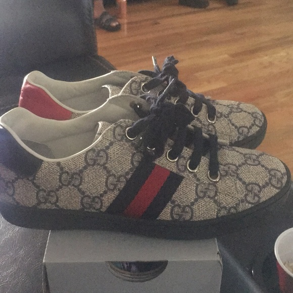 Gucci Shoes - Boys Authentic Gucci Sneakers